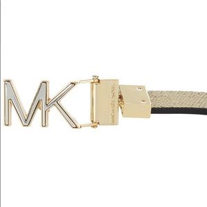 Michael Kors Accessories - MICHAEL Kors Reversible Leather XL Skinny Belt